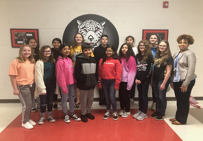 Jaguar Students Selected for All County Chorus