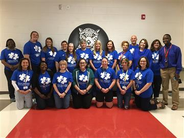 NJMS Students and Staff Support Autism Awareness