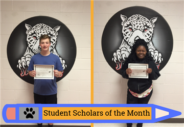 Academic Scholars of the Month