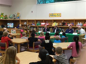 2nd grade Leaders Discussion Panel