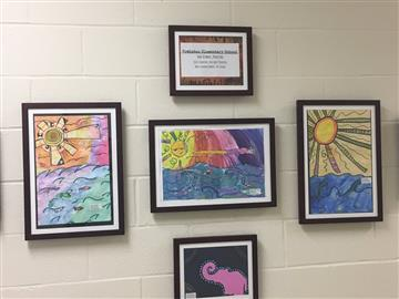 Student Artwork on Display