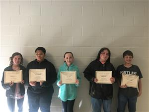 HS Students of the Month