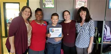 RDE 5th Grader Awarded Grant