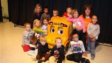 Buster the Bus Visits RDE