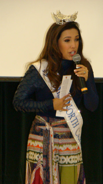 Miss North Carolina Visits RDE