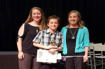 A Racer Wins JCPS Spelling Bee