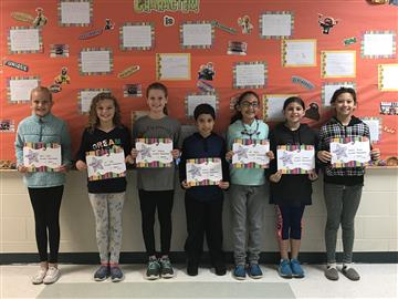 RDE Students Show Responsibility for Student of the Month