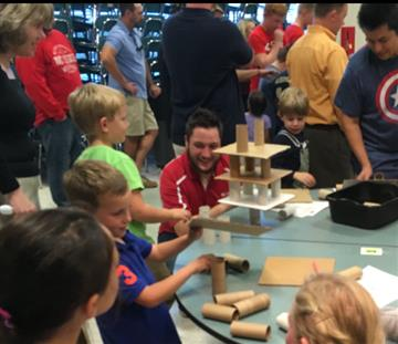 RDE Hold's first STEM Night of the Year