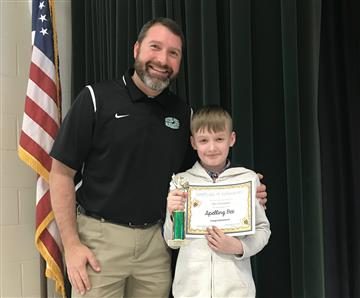 5th Grader wins Spelling Bee