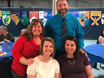 Lockamy Receives First Year Teacher Award