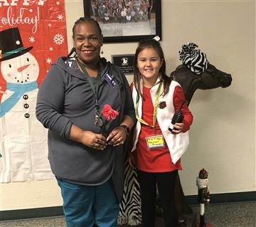 Third Grader Acts as Assistant Principal for a Day