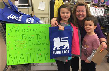 RDE holds Math Night at Food Lion