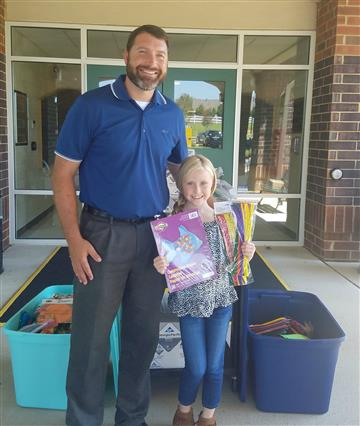RDE Student Makes Donation