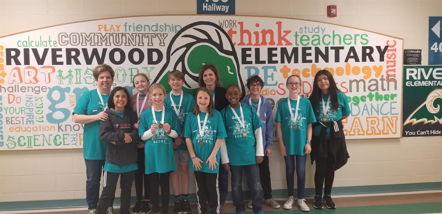RES Battle of the Books Team takes 3rd in County