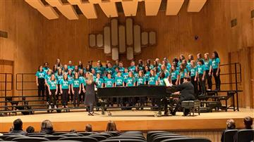 Chorus Students Perform at Campbell University for MPA's