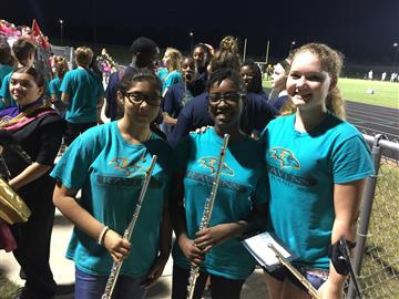 High School Band Experiences for 8th Graders