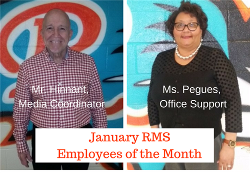 Riverwood Middle School Employees of the Month