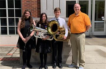 RMS All-State Band Performers