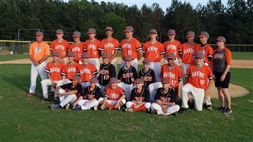 Ravens Baseball Team -      Undefeated Conference Champs!