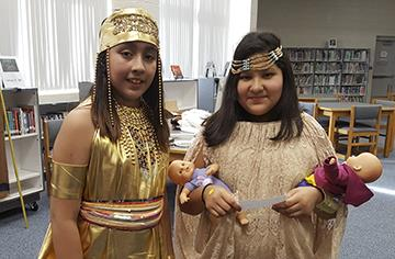 Selma Middle brings ancient Egypt to life