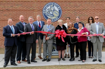 Smithfield-Selma High locker and restroom facility officially open