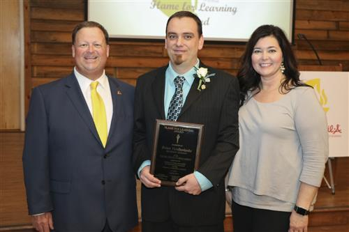 2018-04-25 West Johnston High teacher named district Teacher of the Year Photo 1