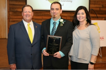West Johnston High teacher named district 'Teacher of the Year'