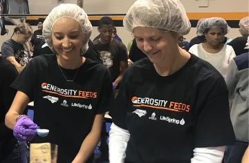 JCPS community teams up to feed the hungry