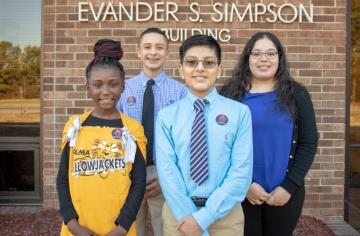 Students and staff recognized January BOE meeting
