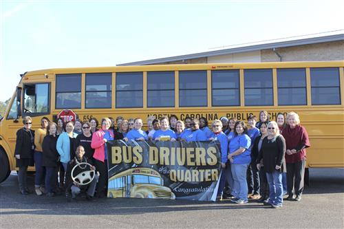 Bus Drivers of the Quarter
