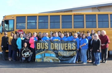 Transportation team recognized for perfect attendance