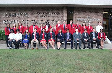 JCPS students and staff recognized at September BOE Meeting