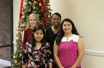 Students and staff recognized at December meeting
