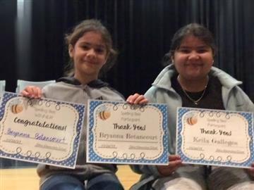 On November 26th, 2019, Selma Elementary School held their 4th grade Spelling Bee.