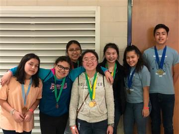 Science Olympiad Team competes at Campbell University