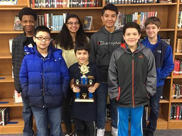 MathCounts Team Places in Third at County Competition