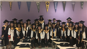 Smithfield-Selma High AVID seniors in the Class of 2019