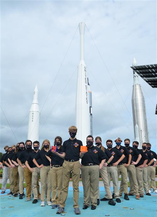 The CubeSat Team at Kennedy Space Center