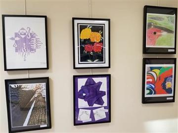 SSS Student artwork on display