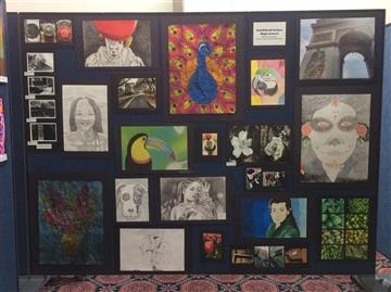 Image of student artwork