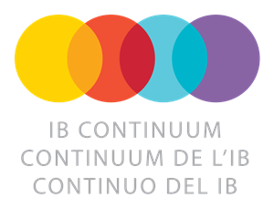Image of four overlapping circles representing the different components of the IB curriculum