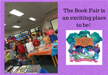 The Book Fair is a Wonderful Place to Be!
