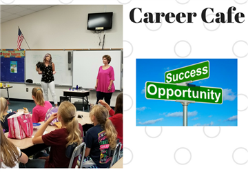 Students Had Special Visitors Sharing Career Choices