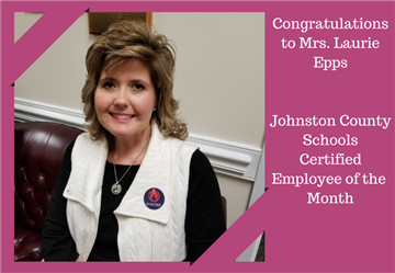 Mrs. Epps, a first grade teacher at Princeton Elementary School, is the JCPS Certified Employee of the Month.