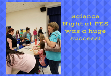 Science Night a Huge Success!