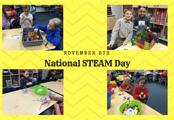 National STEAM Day on November 8th