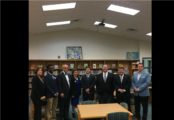 State Superintendent and Board Members visit Princeton Elementary School