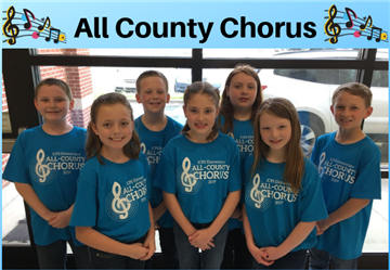 All County Elementary Chorus Students