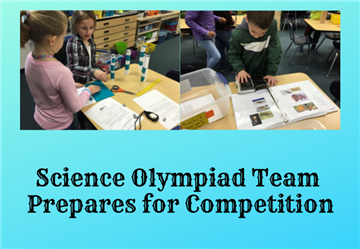 PES Science Olympiad Team Prepares for Competition