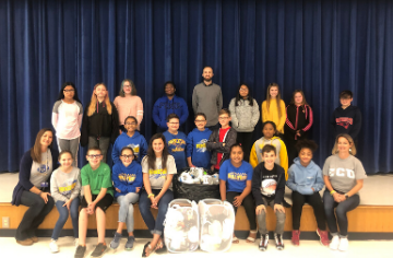 Kindness Club Presents Donation